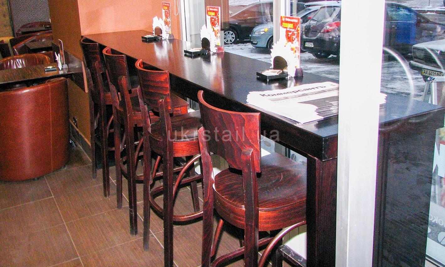 Барный стол кафе Шоколадница Киев 02