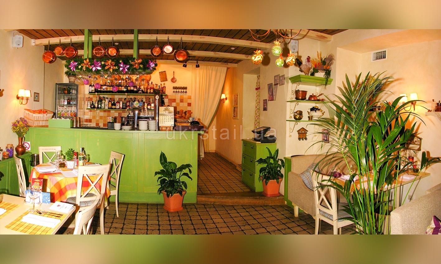 Барная мебель ресторана Месье Оливье Киев 05