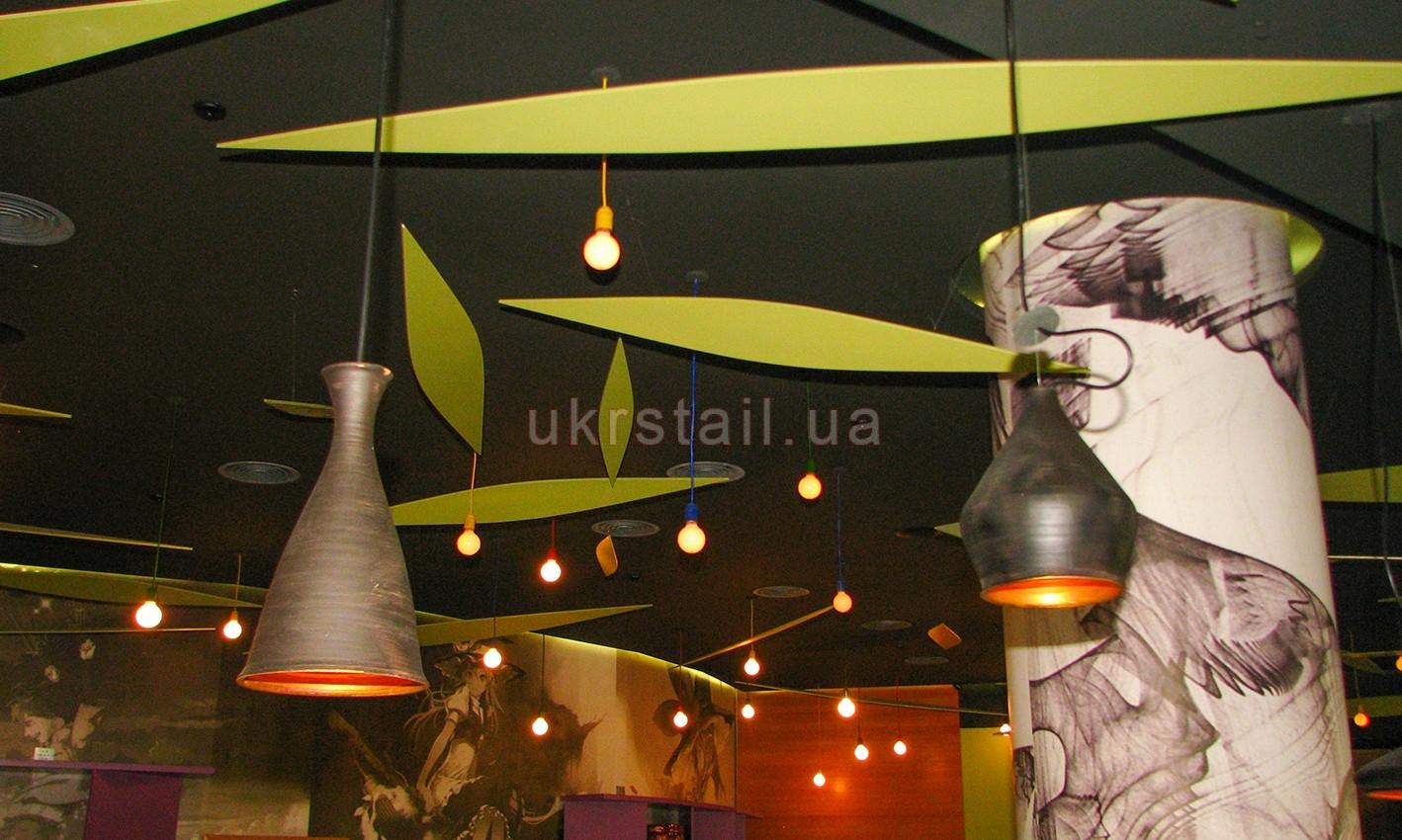 Декоративные лепестки ресторана Мураками на Большой Васильковской 06