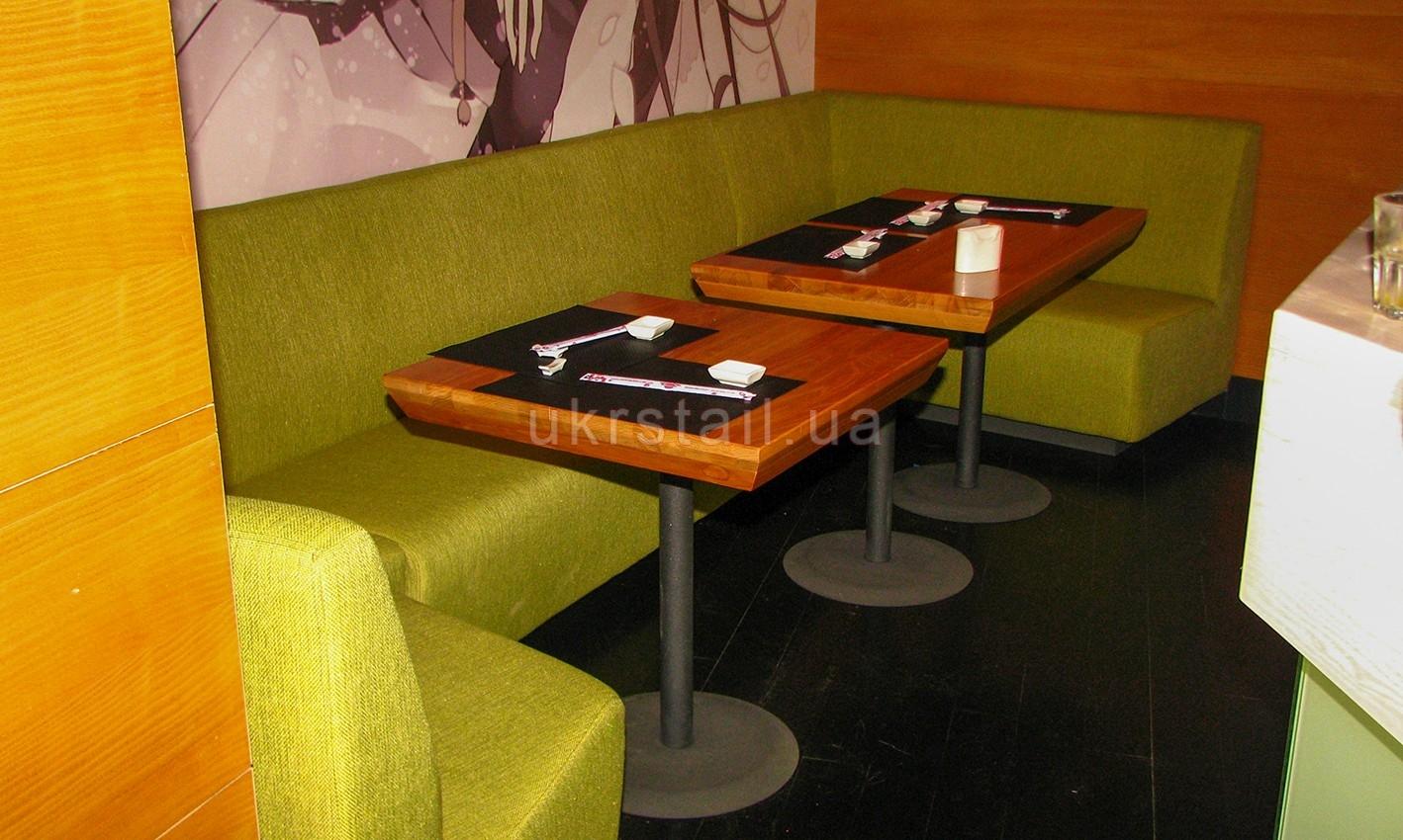 Диван П-образный и столы 07