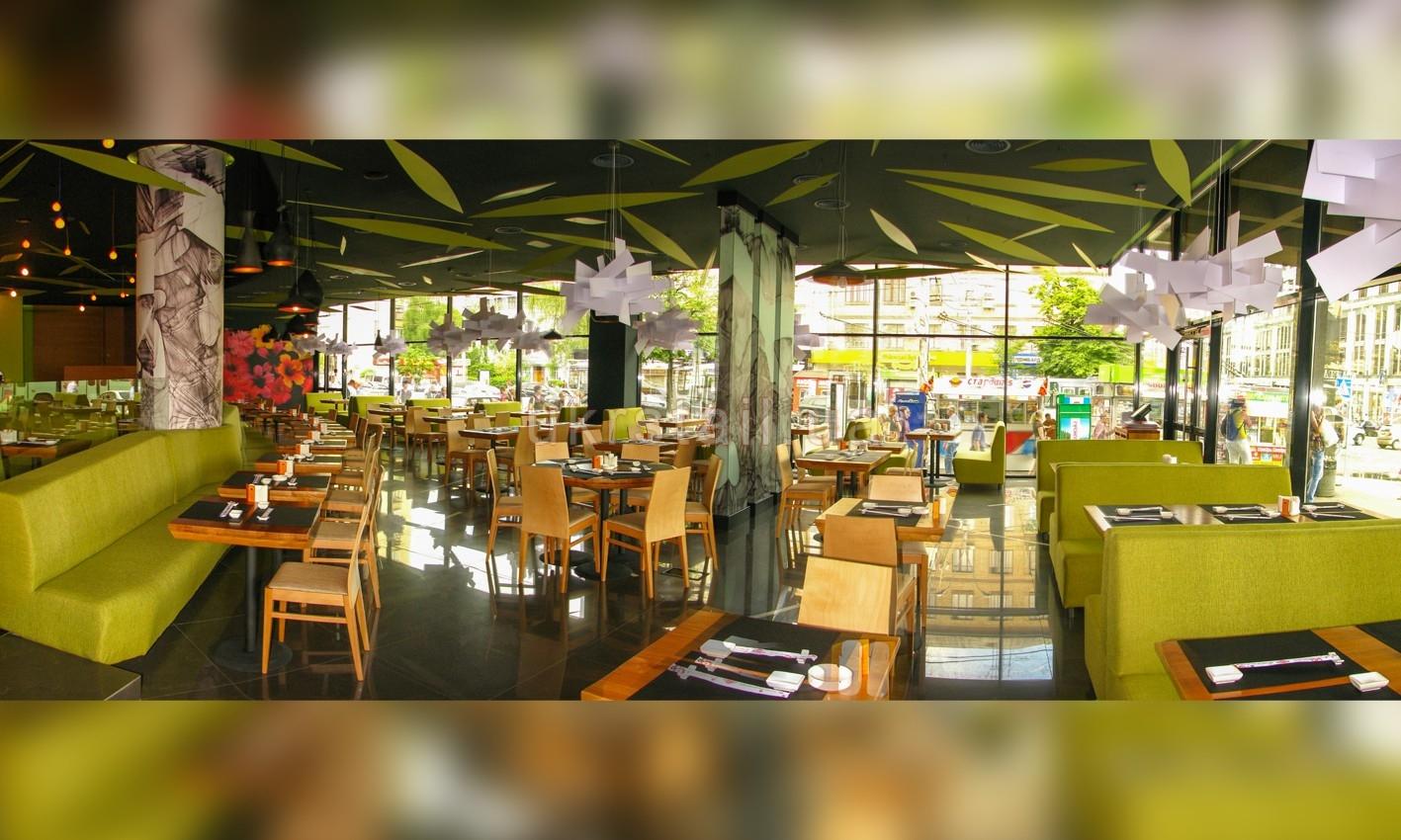 Мебель под заказ ресторана Мураками на Большой Васильковской 09