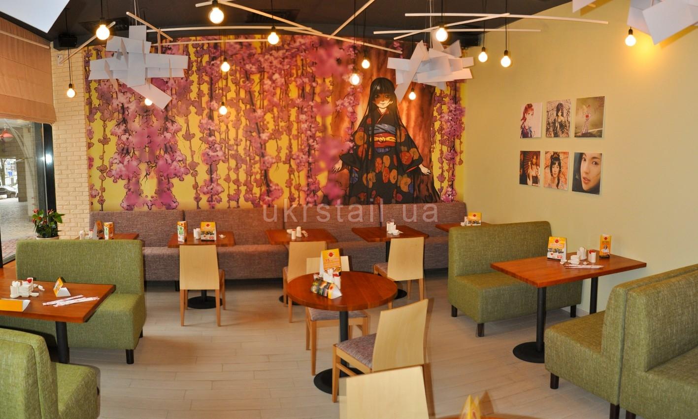 Мягкая мебель ресторана Мураками Киев 07