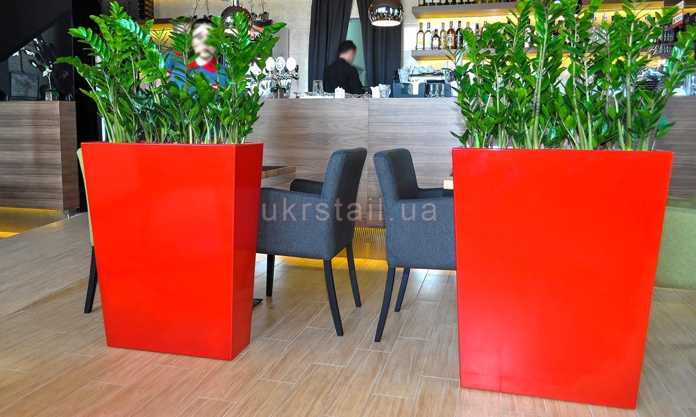 Подцветочники ресторана Мураками в ТРЦ Ocean Plaza 05