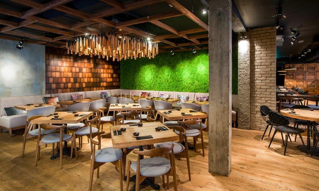 Мебель под заказ ресторана Murakami Лондон 01