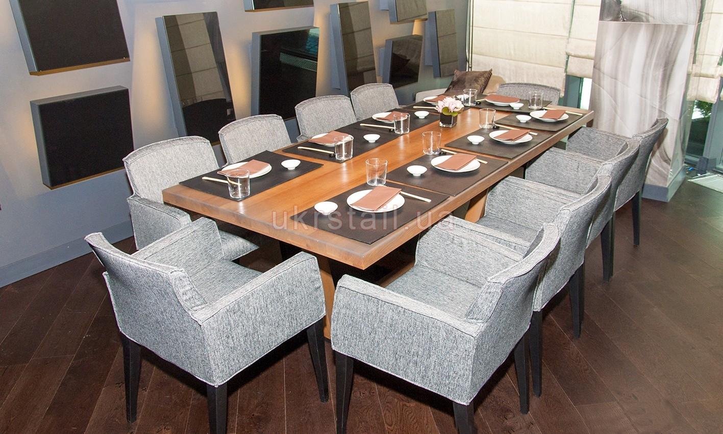 Банкетный стол ресторана Guramma на Днепровском спуске 16