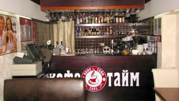 Барная стойка для ресторана Кофе Тайм №05