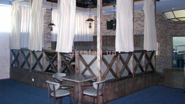 Декоративный забор для ресторана Lancaster №01