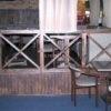 Декоративный забор для ресторана Lancaster №01 3400