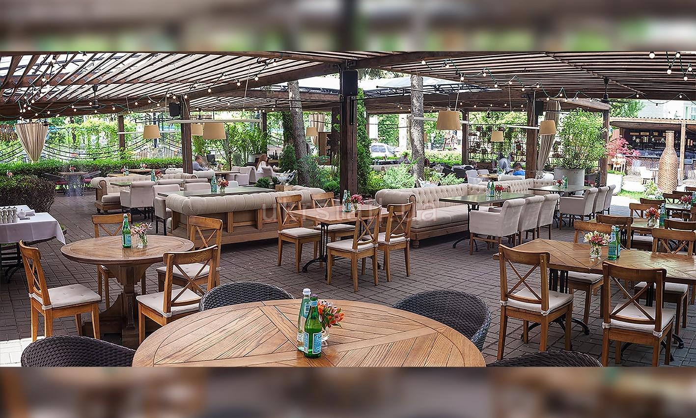 Интерьер ресторана Vino e Cucina Киев 03
