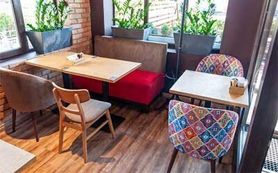 Мягкая мебель для ресторанов на заказ